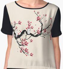 Kodama on a cherry tree Chiffon Top