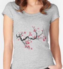 Camiseta entallada de cuello redondo Kodama en un cerezo