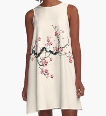 Kodama on a cherry tree A-Line Dress