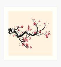 Kodama sur un arbre de la cerise Impression artistique