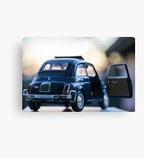 Fiat 500L scale model Canvas Print