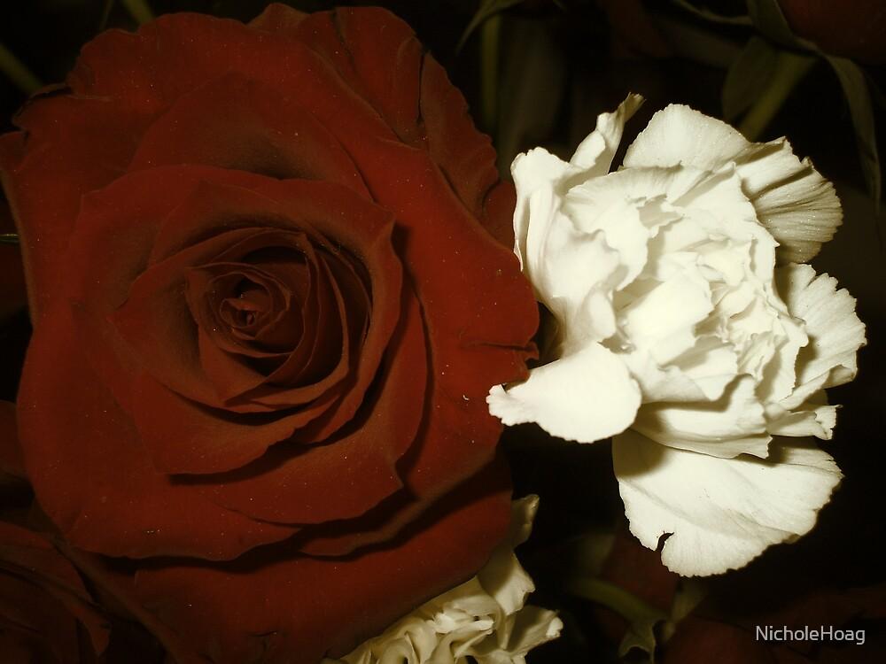Antique Flowers by NicholeHoag