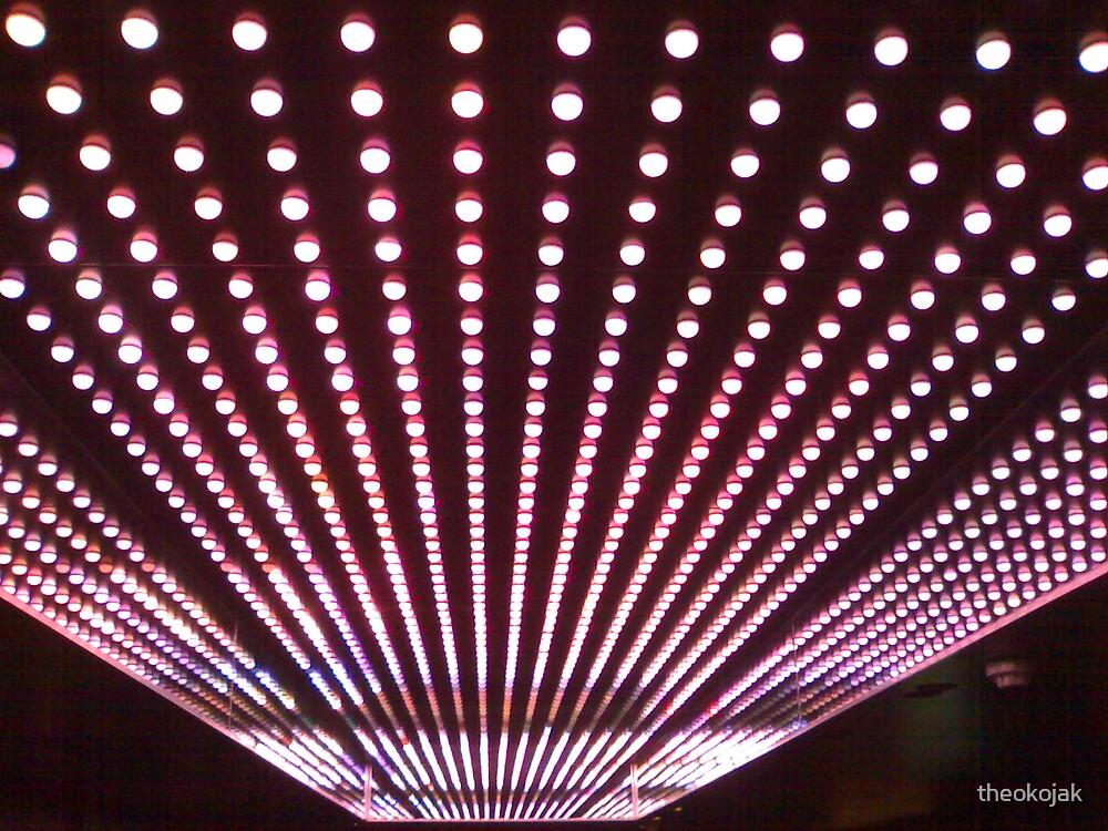 pattern  of lights by theokojak