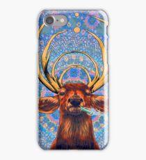 Trippy deer iPhone Case/Skin