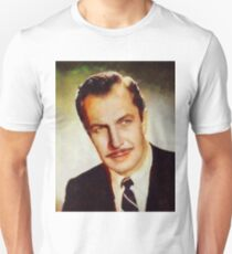 Vincent Price, Vintage Hollywood Actor Unisex T-Shirt