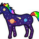 Space Unicorn by jezkemp