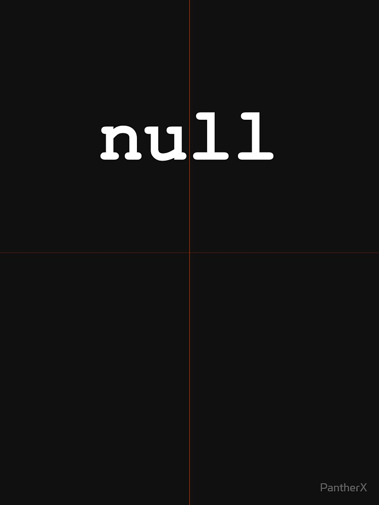 null by PantherX