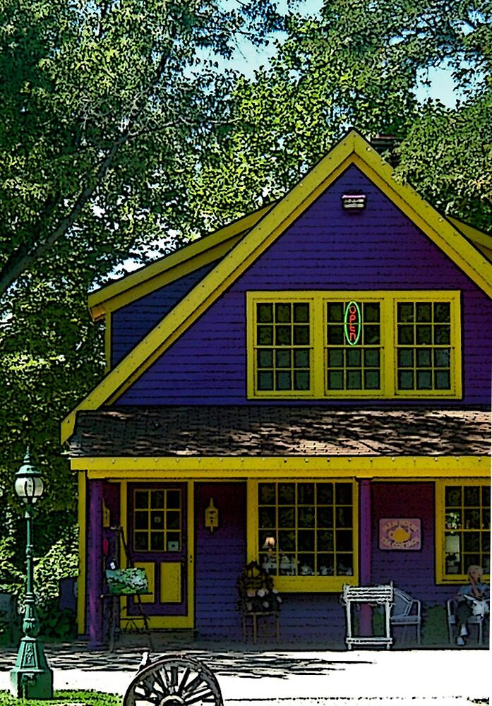 The Tea Cottage  by Erika Benoit