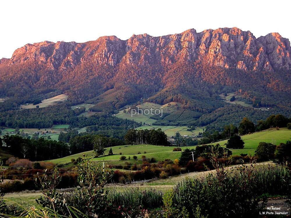 photoj Australia - Tas Mt Roland, Sunrise by photoj