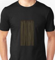 Glitch Homes Wallpaper wooden cave wall 4 T-Shirt