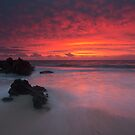 Trigg Beach Sunset by Mark McClare