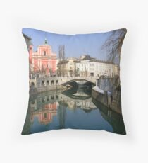 Ljubljana Throw Pillow