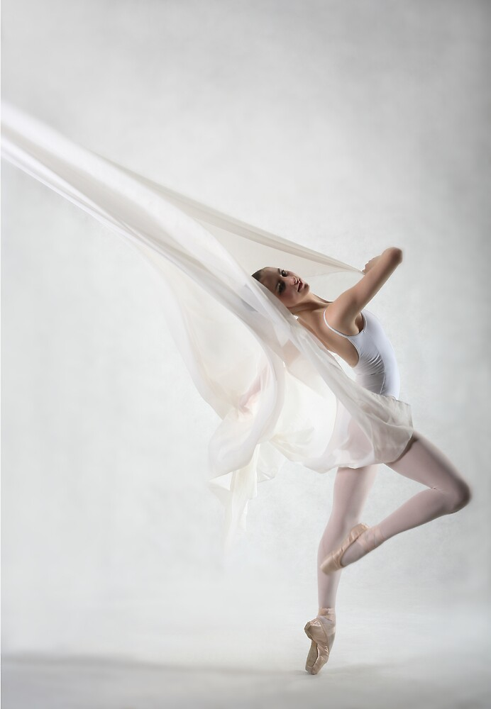 White dancer by Lawrence Winder