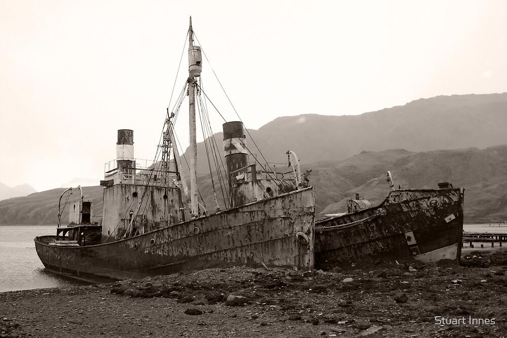 Shipwreck by Stuart Innes