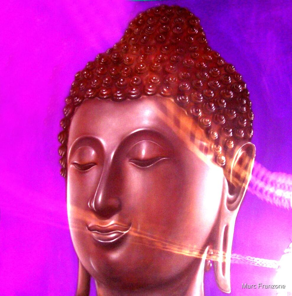 Magenta Buddha by Marc Franzone