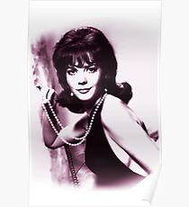 Natalie Wood vintage color Poster