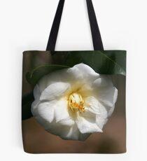White Camellia III Tote Bag