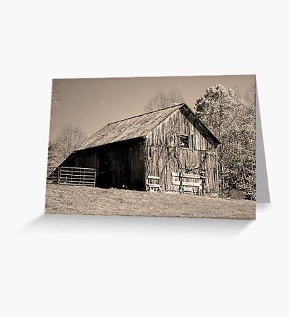 Rusty Old Barn II Greeting Card