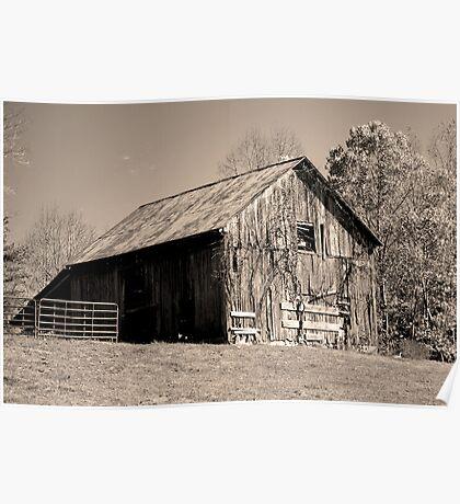Rusty Old Barn II Poster