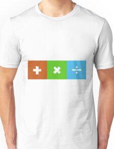 Ed Sheeran - '+,x,÷' Album Design (White) Unisex T-Shirt