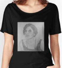 Mary Crawley - Downton Abbey Women's Relaxed Fit T-Shirt