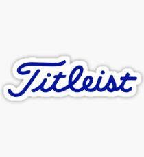 Titleist Sticker