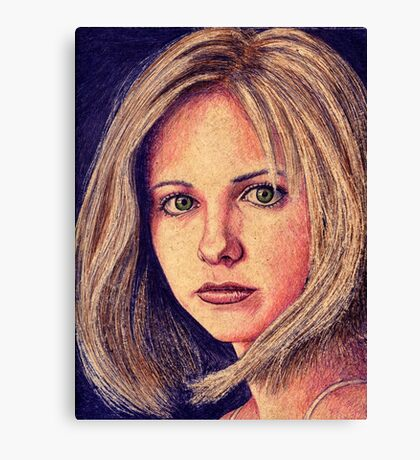 Buffy the Vampire Slayer Canvas Print