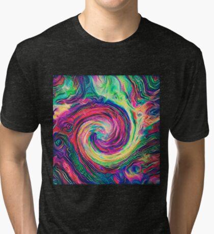 Swirl hook #Digital #Art Tri-blend T-Shirt