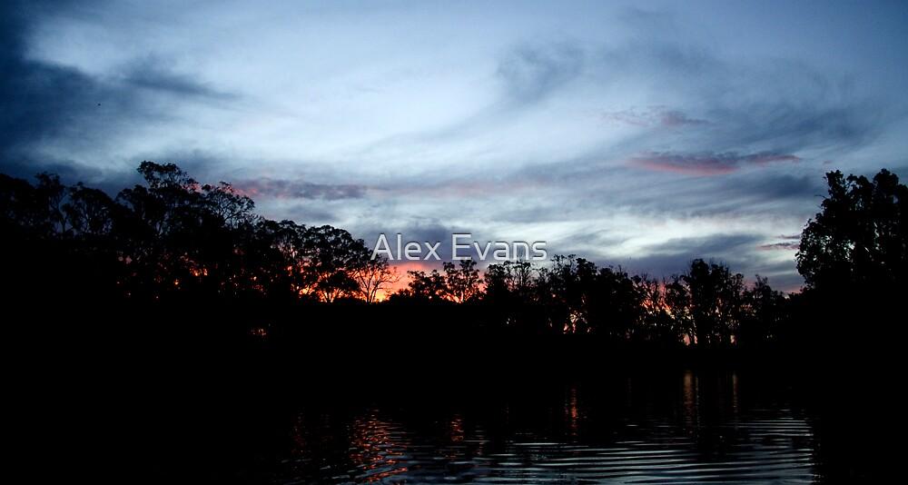 Torrumbarry Sunset by Alex Evans
