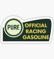 Pure Official Racing Gasoline Sticker