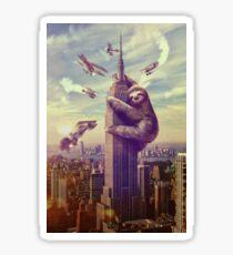 Sloth King Kong Sticker