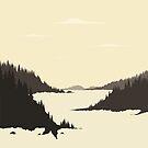 River mountain by Aleksander1