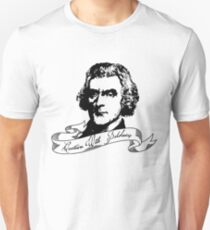 Thomas Jefferson - Question With Boldness Unisex T-Shirt