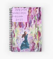Water of Life with Scripture Spiral Notebook