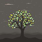 Tree at night by Aleksander1
