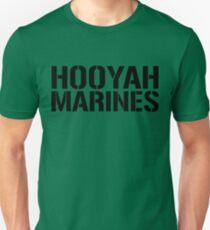 United States Marine Corps, Hooyah Marines Unisex T-Shirt