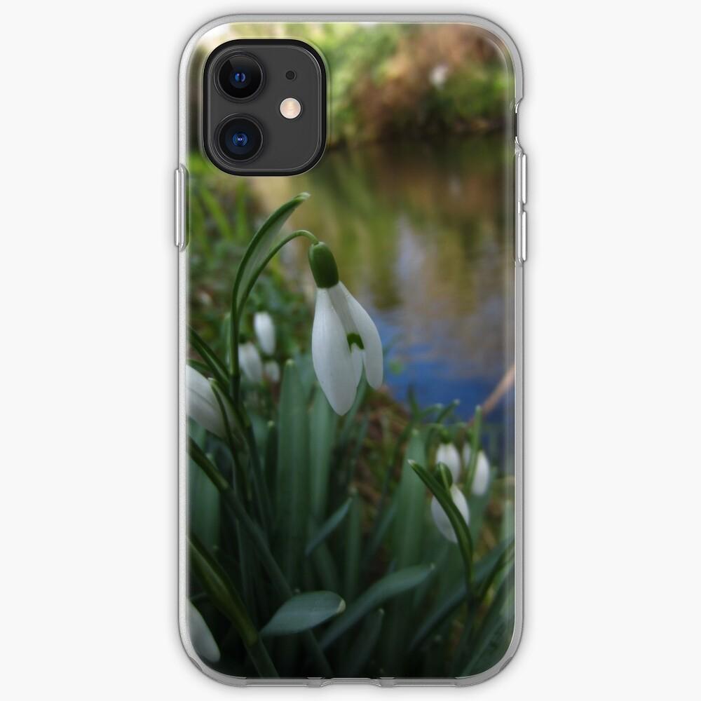 Snowdrop iPhone Soft Case