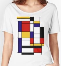 Mondrian Women's Relaxed Fit T-Shirt