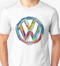 Volkswagen Painted (blue,orange and yellow)  Unisex T-Shirt