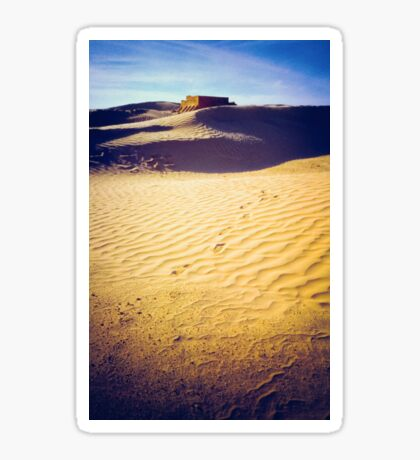 Fort in the Sahara desert Sticker