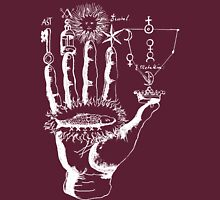 Renaissance Alchemy Hand with Symbols Unisex T-Shirt