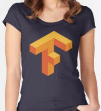 TENSOR FLOW II Women's Fitted Scoop T-Shirt
