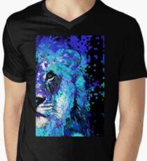 Blue Lion Art - Sharon Cummings Men's V-Neck T-Shirt