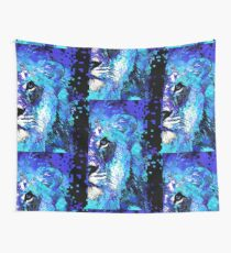 Blue Lion Art - Sharon Cummings Wall Tapestry
