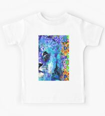 Beauty And The Beast Half Face - Lion Art - Sharon Cummings Kids Clothes