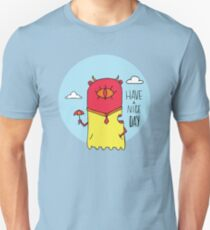 Have a Nice Day Illustration T-Shirt
