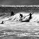 Surfing Silhouette by MikeBJ