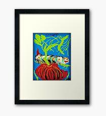 Silly Caterpillar  Framed Print