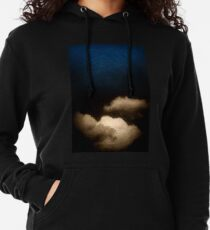 Clouds in a scratched darkness Lightweight Hoodie