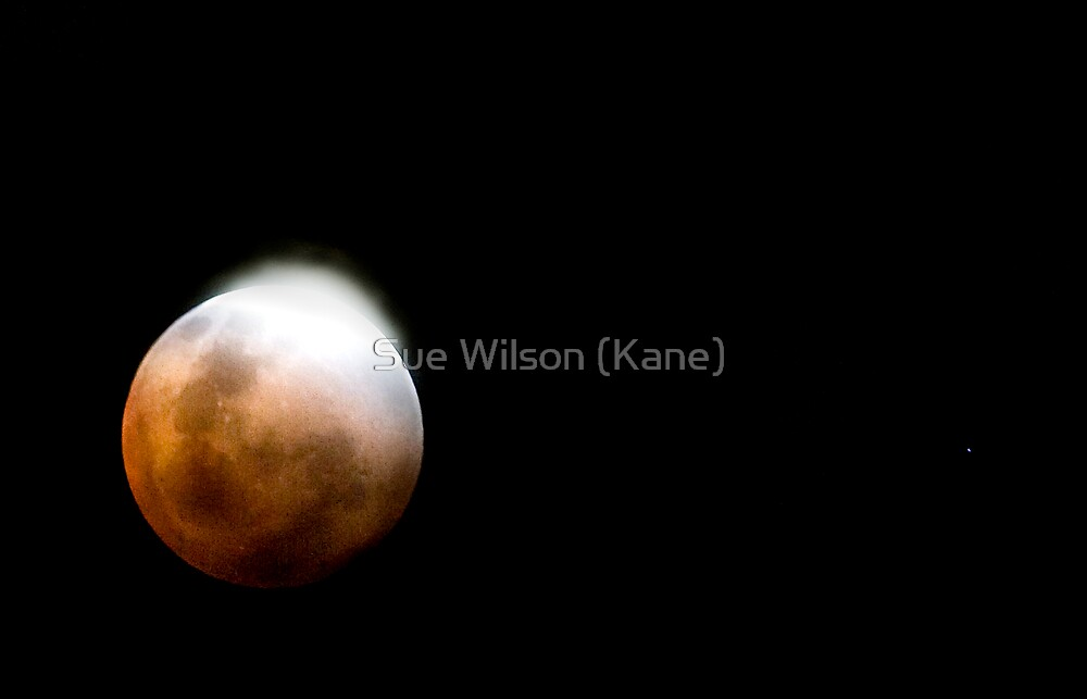 Lunar Eclipse by Sue Wilson (Kane)